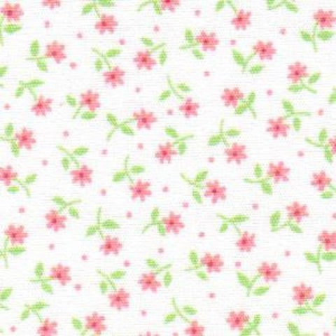 Pink and Green Floral #1763