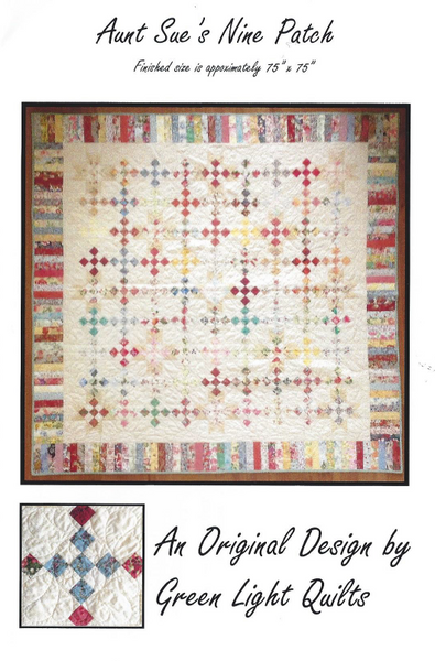 Aunt Sue's Nine Patch Quilt