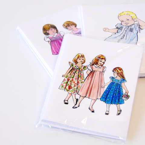 Children's Corner Watercolor Notecards