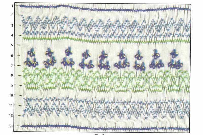 Children's Corner Iris Smocking Plate