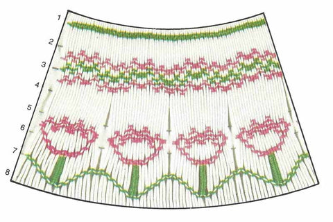 Children's Corner Tiptoe Smocking Plate
