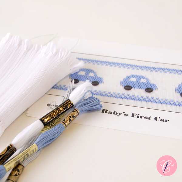 Pleated Insert Kit: Baby's First Car