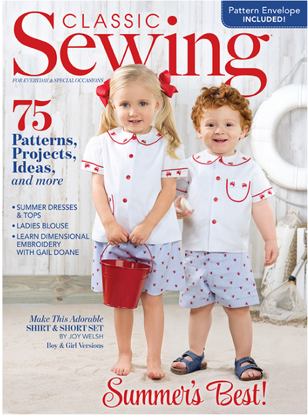 Classic Sewing Magazine - Summer 2019
