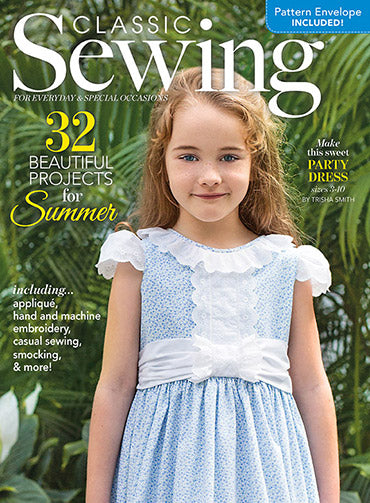 Classic Sewing Magazine - Summer 2018