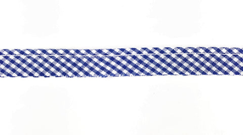 Piping - Gingham Royal