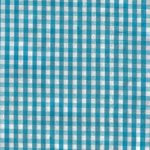 Silk Gingham Blue