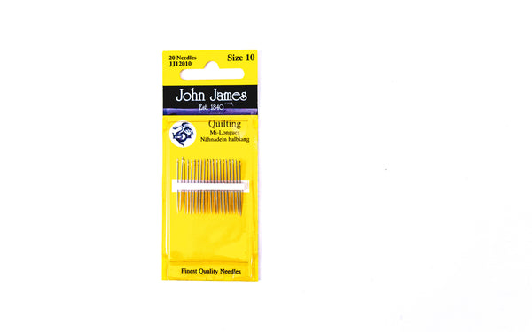 Betweens/Quilting Needles - Size 10
