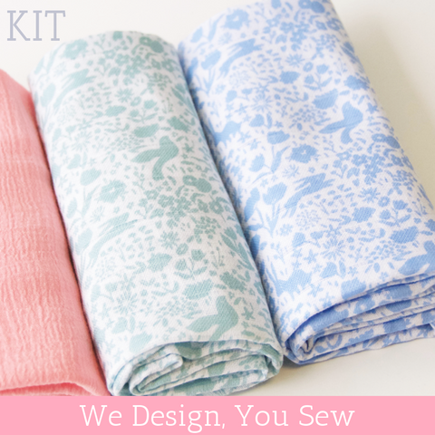 Gauze Swaddle Blanket Kit