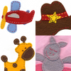 Wool Felt Applique Kit