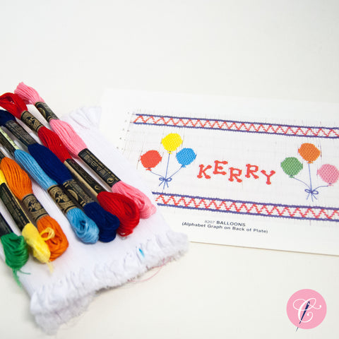 Pleated Insert Kit: Balloons & Alphabet