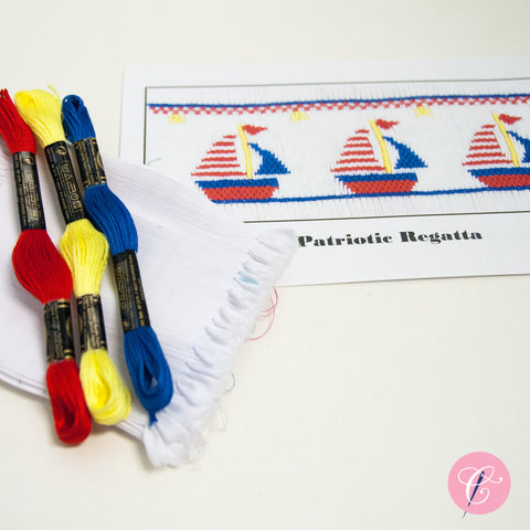 Pleated Insert Kit: Patriotic Regatta