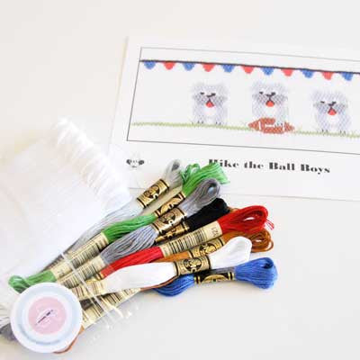 Pleated Insert Kit: Hike the Ball Boys