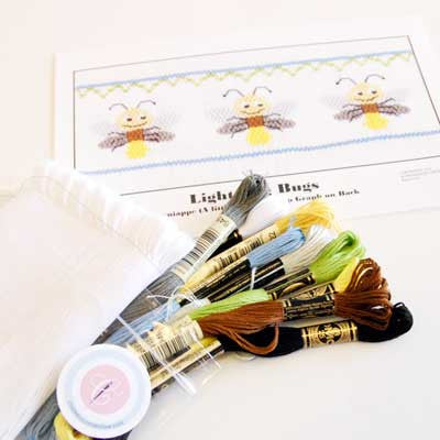 Pleated Insert Kit: Lightning Bugs