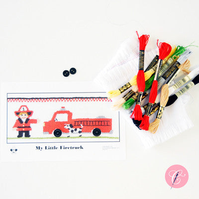 Pleated Insert Kit: My Little Firetruck