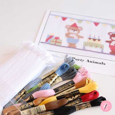 Pleated Insert Kit: Party Animals