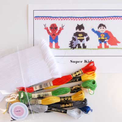 Pleated Insert Kit: Super Kids