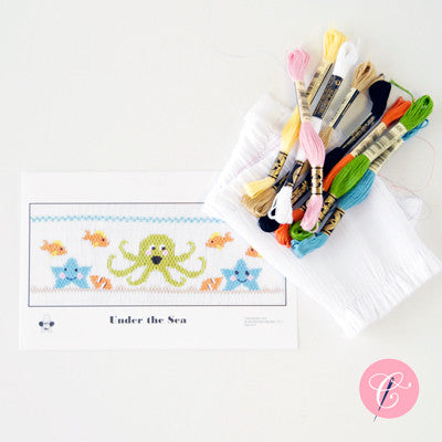 Pleated Insert Kit: Under the Sea