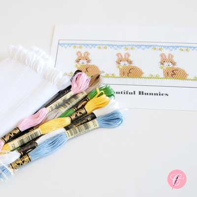 Pleated Insert Kit: Beautiful Bunnies