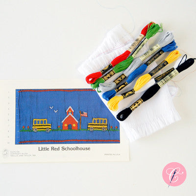 Pleated Insert Kit: Little Red Schoolhouse