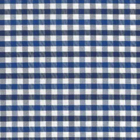 Royal and Navy Plaid