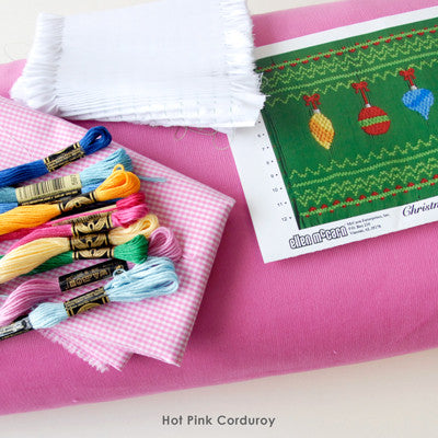 Pleated Insert Kit: Christmas Balls Pastel Colors