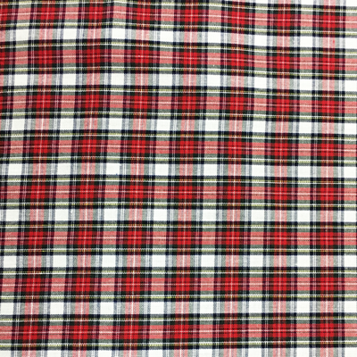Tartan Red and White