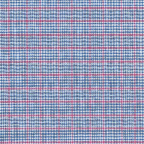 Blue and Pink Shirting