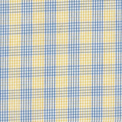Yellow and Blue Shirting