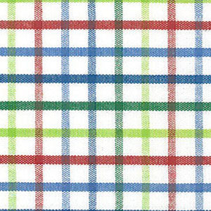 Red, Blue and Green Check