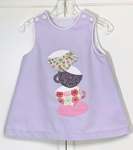 Appliqué Kit: Teacup Tumble