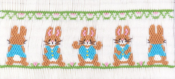 Bunnies In Blue Velvet Vests