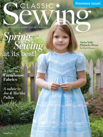 Classic Sewing Magazine - Premiere Issue