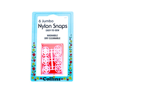 Jumbo Nylon Snaps by Collins