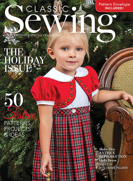 Classic Sewing Magazine - Holiday 2018