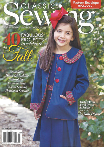 Classic Sewing Magazine - Autumn 2017