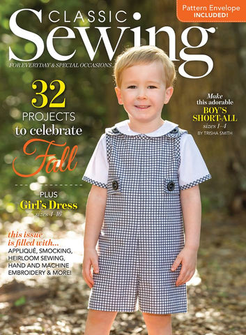 Classic Sewing Magazine - Autumn 2018