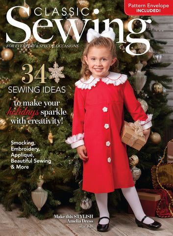 Classic Sewing Magazine - Holiday 2016