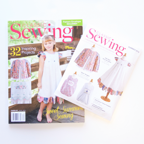 Classic Sewing Magazine - Summer 2016