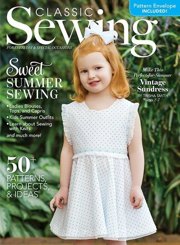Classic Sewing Magazine - Summer 2020