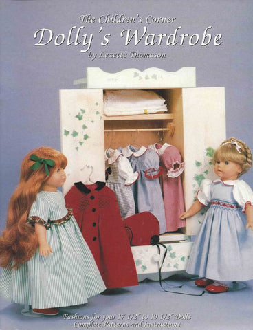 Children's Corner Dolly's Wardrobe Book and Pattern