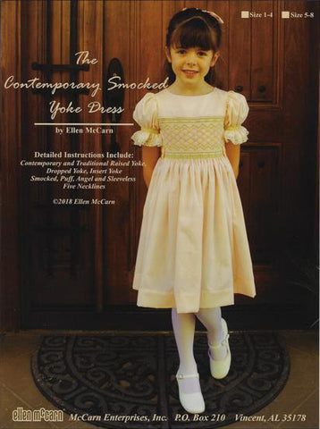 Contemporary Smocked Yoke Dress