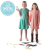 Nora's Knit Dress - Digital Download