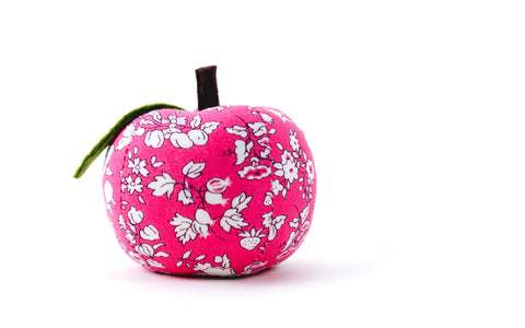 Liberty Apple Pin Cushion