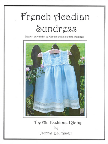French Acadian Sundress