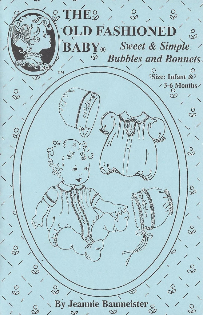 7a38ee9aa The Old Fashioned Baby Sweet Simple Bubbles and Bonnets | Pattern | Children's  Corner Store