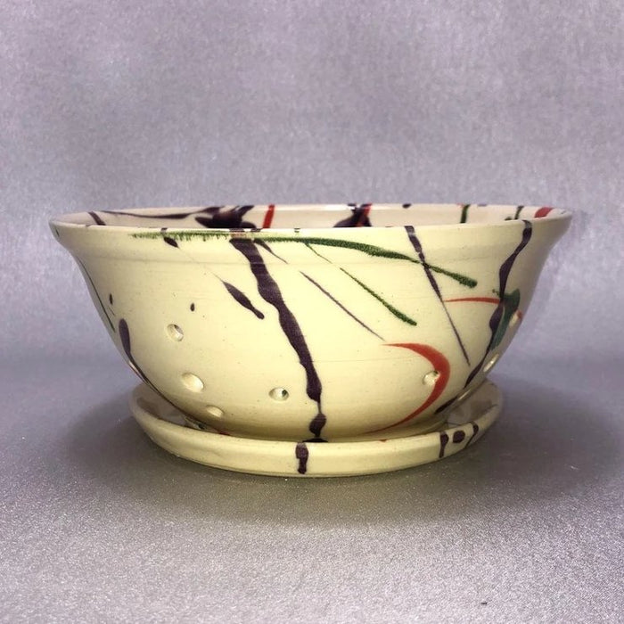 BERRY BOWL AND SAUCER by Stevens Pottery | Artfest Ontario