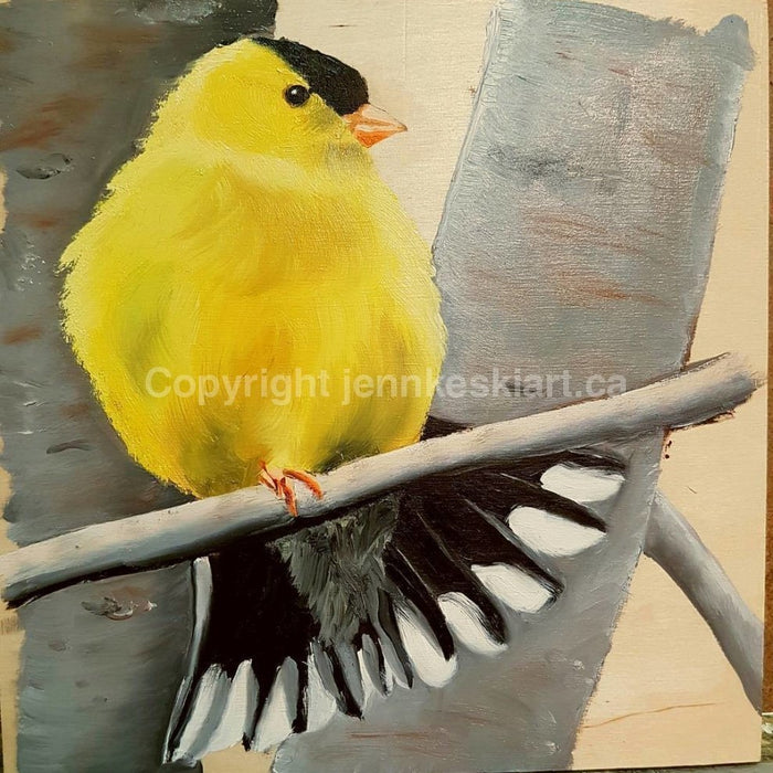 GOLDFINCH by Jenn Keski Art | Artfest Ontario
