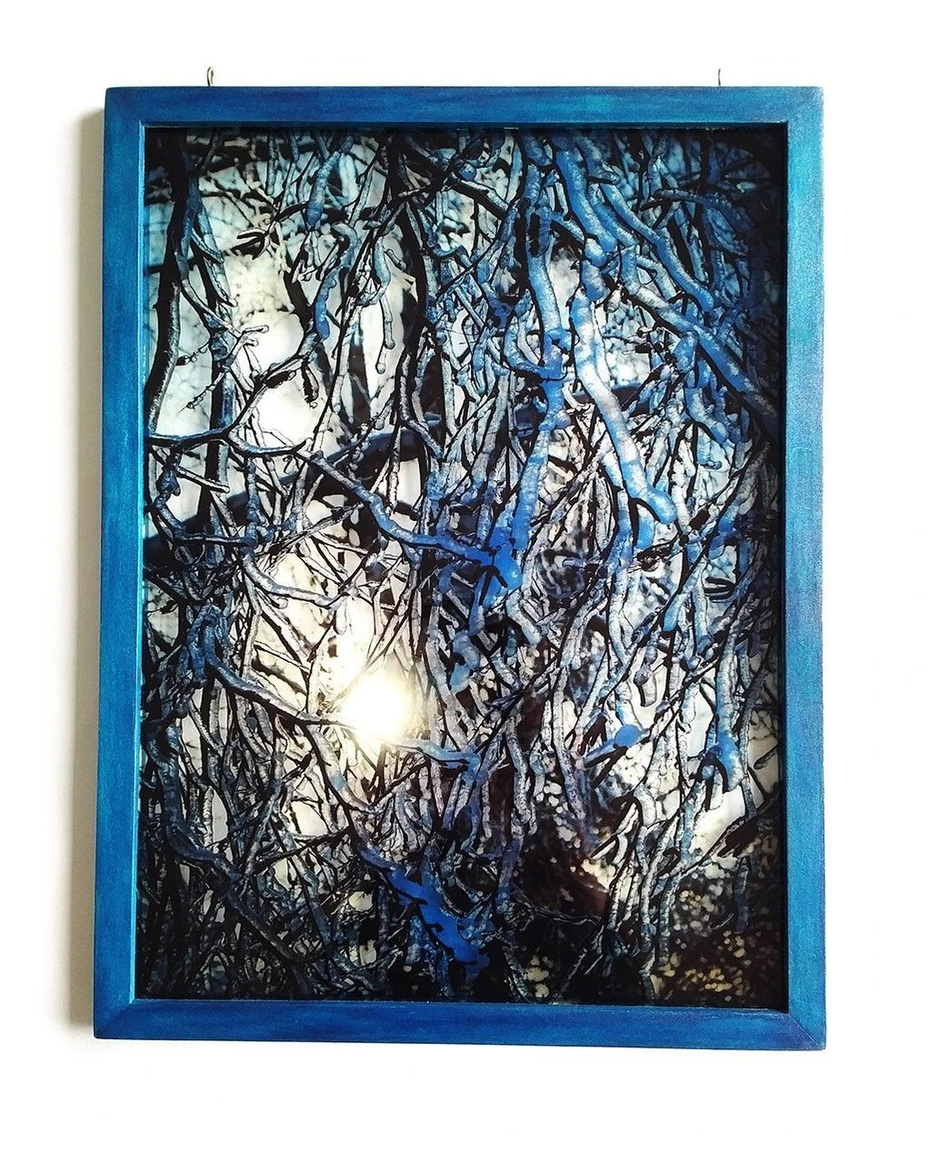 Light Shimmers Through the Ice in Rufuss Photographic Suncatcher | Artfest Ontario