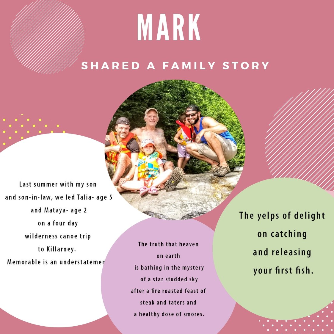 "Mark shared a story ""On being a Grand Parent"" 
