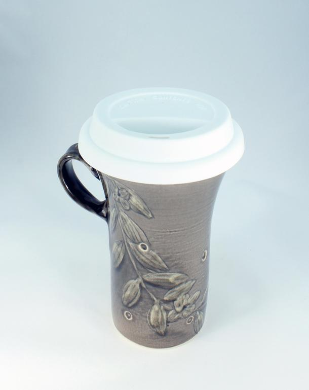 ON THE GO ENVIRO MUG by One Rock Pottery | Artfest Ontario